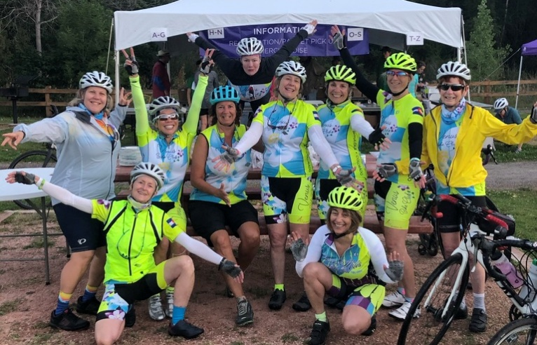 Venus Bike Club members group shot
